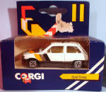 Click here to enlarge image and see more about item d00586: 1980s Corgi Jr. Opel Corsa