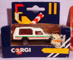 Click here to enlarge image and see more about item d00594: 1980s Corgi Jr. White Truck