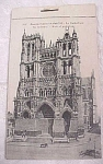 Click here to enlarge image and see more about item e00038: WW1 Souvenir Postcard Book - d'Amiens