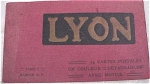 Old Souvenir Postcard Book - Lyons