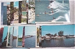 Click here to enlarge image and see more about item e00044: Water Related Scenic Postcard Lot