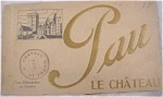 Click here to enlarge image and see more about item e00046: Old Souvenir Postcard Book - Pau