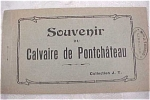 Click here to enlarge image and see more about item e00048: Old Souvenir Postcard Book - Pantchateau