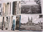 Click here to enlarge image and see more about item e00053: World Postcard Lot - B&W Continental