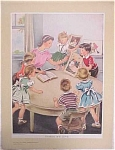 Click here to enlarge image and see more about item e00089: Kindergarden Poster Set