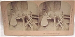 Click here to enlarge image and see more about item e00091: 1892 B.W. Kilburn Stereoview #7466 Children