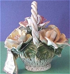 Click to view larger image of Capo di Monte Rose Basket (Image1)