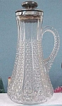 Click to view larger image of Pressed Glass Decanter (Image1)