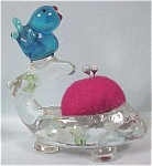 Click here to enlarge image and see more about item g00158: Bird & Nest Pin Cushion