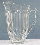 Click here to enlarge image and see more about item g00173: Clear Pressed Pitcher