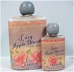 Click here to enlarge image and see more about item g00312: Lander Spicy Apple Blossum Perfume Bottles