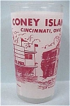 Coney Island Cincinnati Souvenir Glass