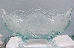 Click to view larger image of Light Blue Glass Banana Bowl (Image1)