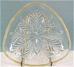 Click to view larger image of Clear Glass Triangle Dish (Image1)