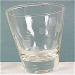 Click here to enlarge image and see more about item g00465: Juice Glass, cut design