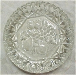 Click here to enlarge image and see more about item g00500: Imperial Pioneer Clear Glass Dish