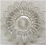 Click to view larger image of Federal Glass Petal Large Clear Bowl (Image1)