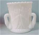 Click here to enlarge image and see more about item g00564: Westmoreland  Swan in Rushes Toothpick Holder