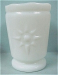 Click here to enlarge image and see more about item g00572: Milk Glass Toothpick Holder