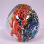 Click here to enlarge image and see more about item g00677: Glass Paperweight