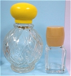 Click here to enlarge image and see more about item g00791: Small Avon and Brut Cologne Bottles