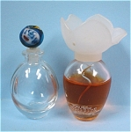 Click here to enlarge image and see more about item g00792: Miniature Perfume Bottle Pair