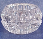 Click here to enlarge image and see more about item g00807: Clear Glass Salt Dip