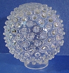 Click here to enlarge image and see more about item g00829: Hobnail Globe