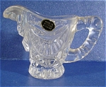 Miniature West German Glass Child's Pitcher
