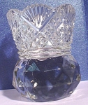 Click here to enlarge image and see more about item g00954: Glass Toothpick Holder