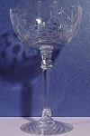 Fostoria Christiana Champagne / Tall Sherbet Stem Glass