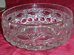 Eyewinker Pattern Glass Bowl