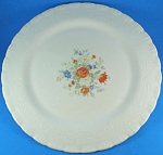 Click here to enlarge image and see more about item g01045: 1940s Macbeth-Evans Corning Chinex Bouquet Platter