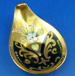 Click to view larger image of Small Murano Green Glass Dish (Image1)