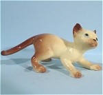 Click here to enlarge image and see more about item h01702: Hagen-Renaker Miniature Pa Siamese Cat