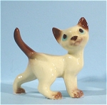 Click here to enlarge image and see more about item h01703: Hagen-Renaker Miniature Siamese Tom Cat
