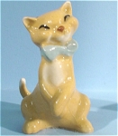 Click here to enlarge image and see more about item h01732: Hagen-Renaker Miniature Happy Cat