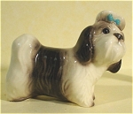 Click here to enlarge image and see more about item h01741: Hagen-Renaker Miniature Shih Tsu Named Mandy