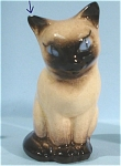 Click here to enlarge image and see more about item h01748: Hagen-Renaker Miniature Siamese Cat
