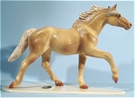 Click here to enlarge image and see more about item h01774: Hagen-Renaker Specialty Trotting Thoroughbred