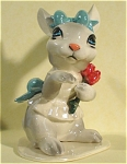 Click here to enlarge image and see more about item h01784: Hagen-Renaker Specialty Bunny Bride