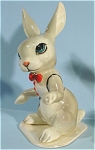 Click here to enlarge image and see more about item h01785: Hagen-Renaker Specialty Bunny Groom