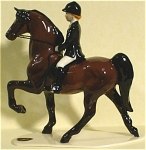 Click here to enlarge image and see more about item h01786: Hagen-Renaker Specialty Saddlebred