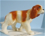 Click here to enlarge image and see more about item h01839: Hagen-Renaker Miniature King Charles Spaniel