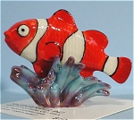 Click here to enlarge image and see more about item h01858: Hagen-Renaker Miniature Clown Fish