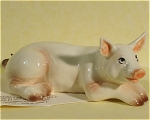 Click here to enlarge image and see more about item h01860: Hagen-Renaker Miniature Mama Pig