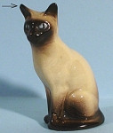 Click to view larger image of Hagen-Renaker Miniature Sitting Siamese Cat (Image1)