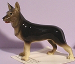 Click here to enlarge image and see more about item h01971: Hagen-Renaker Miniature Standing German Shepherd