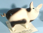 Click here to enlarge image and see more about item h01977: Hagen-Renaker Miniature Papa Pig