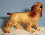 Click here to enlarge image and see more about item h02128: Hagen-Renaker Miniature Pa Cocker Spaniel